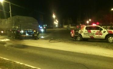 Problemas mecánicos en camión a punto de provocar accidente