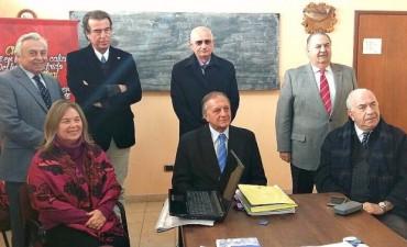 El STJ celebro su acuerdo en Federal y se reunió con autoridades locales