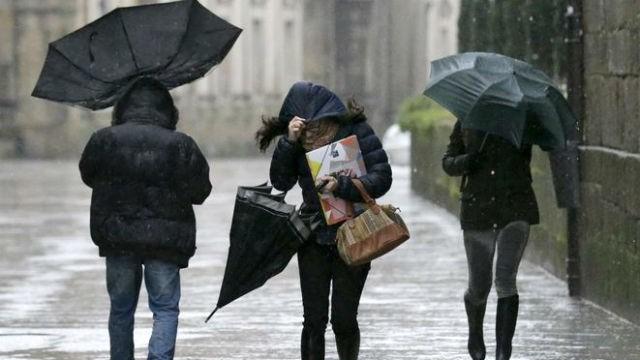 Frío, viento y lluvia para Entre Ríos