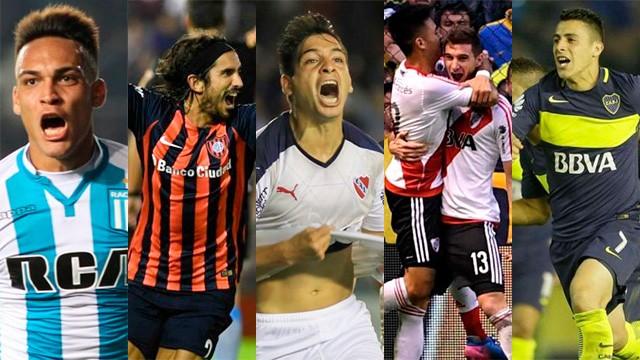 Los cinco grandes de Argentina se quieren