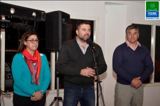 EL PRESIDENTE MUNICIPAL PARTICIPÓ DE LA CENA DE LA ASOCIACIÓN DE BOMBEROS VOLUNTARIS EN SU DÍA