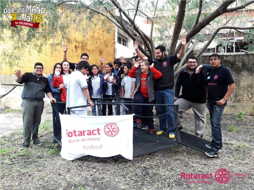 Proyecto solidario de Rotaract Club Federal