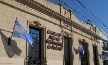 Por mayoría se aprobó la designación  de Auxiliar Administrativo en el Concejo Deliberante