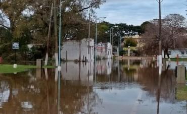 Creciente del río en Concordia: 161 familias ya debieron dejar sus casas