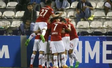 Independiente se hizo fuerte en Perú y continua en la Copa Sudamericana