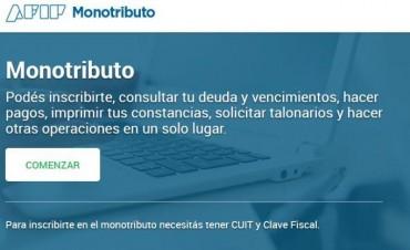 Ya está disponible el nuevo portal web para monotributistas