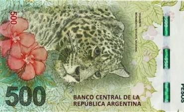 Al yaguareté y la ballena les cuesta hacerse un lugar entre los billetes