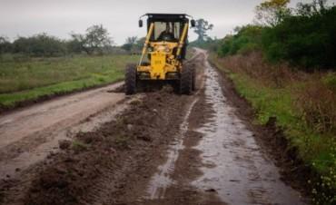 Concejales justicialistas  piden soluciones para con los caminos en Colonia Federal