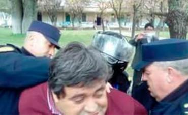 Detienen al secretario adjunto de UPCN tras disturbios en hospital de Diamante