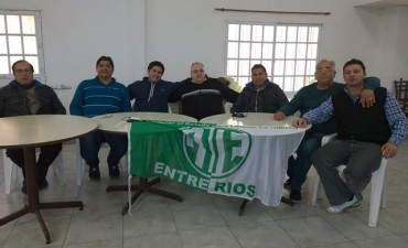 En Federación: Se reunieron los Secretarios generales de ATE Verde y Blanca y CTA Entre Ríos