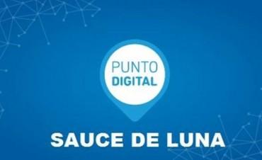 Pusieron en marcha el Punto Digital Sauce de Luna