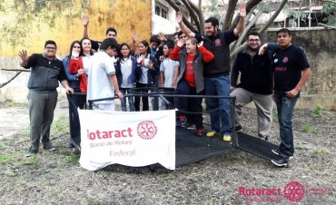 Proyecto solidario de Rotaract Club Federal