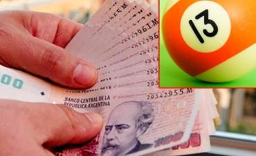 Rompió la maldición del Martes 13 y ganó más de 400 mil pesos en la Quiniela