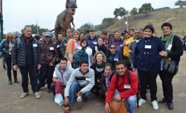 Alumnos del Taller Protegido Santa Rosa visitaron Tecnopolis