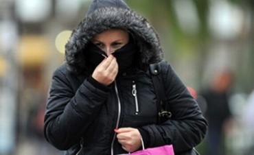 Avanza un frente frío que llevará las temperaturas mínimas a apenas 2 grados