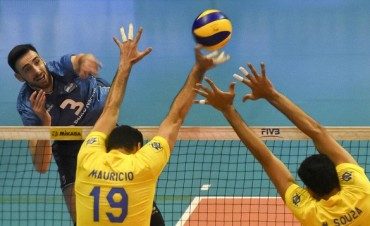 Argentina logró ante Brasil una histórica victoria en la Liga Mundial de Voley