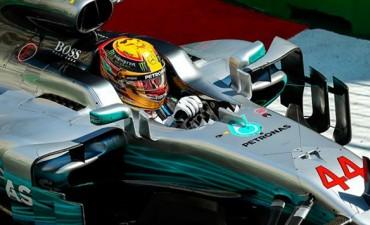 Fórmula 1: Hamilton se quedó con la pole en Bakú