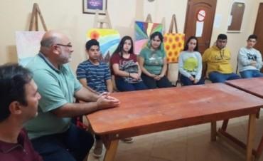 El Instituto Audiovisual de la Provincia se reunió con un Taller vinculado a la Temática