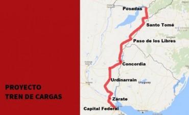 El proyecto para reactivar el tren de cargas que beneficia a Entre Ríos