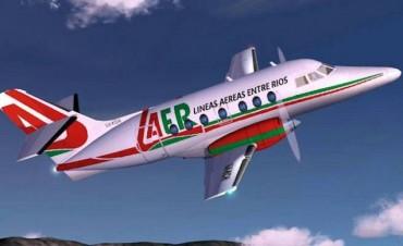 Sin LAER en el aire, son dos las low cost que volarán a Entre Ríos