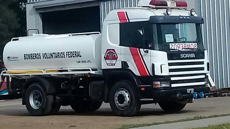 Nuevo equipamiento para los Bomberos Voluntarios de Federal