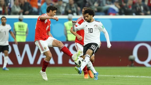 Rusia derrotó a Egipto y prácticamente aseguró su clasificación a Octavos de Final