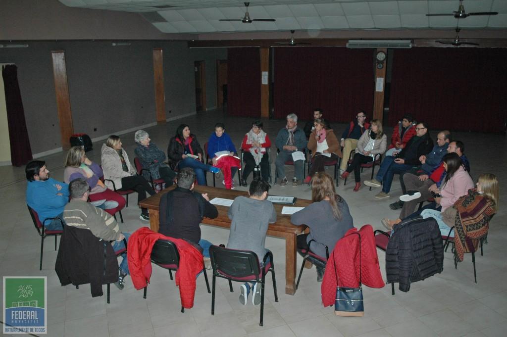 Primera reunión organizativa del Festival Nacional del Chamame