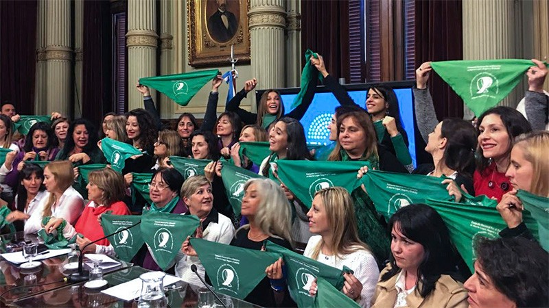 El Senado votará el proyecto de despenalización del aborto el 8 de agosto