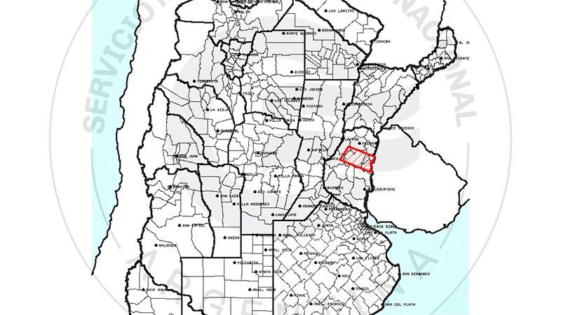 Alertan por tormentas y posible granizo en varios departamentos de Entre Ríos