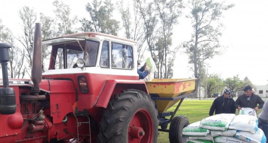 El Municipio realiza importantes trabajos en cancha Unión