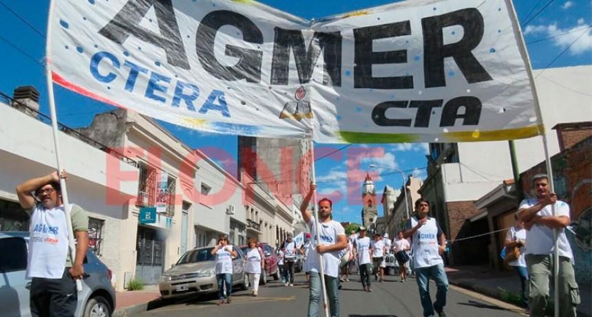 AGMER anunció su adhesión al paro convocado por la CTA