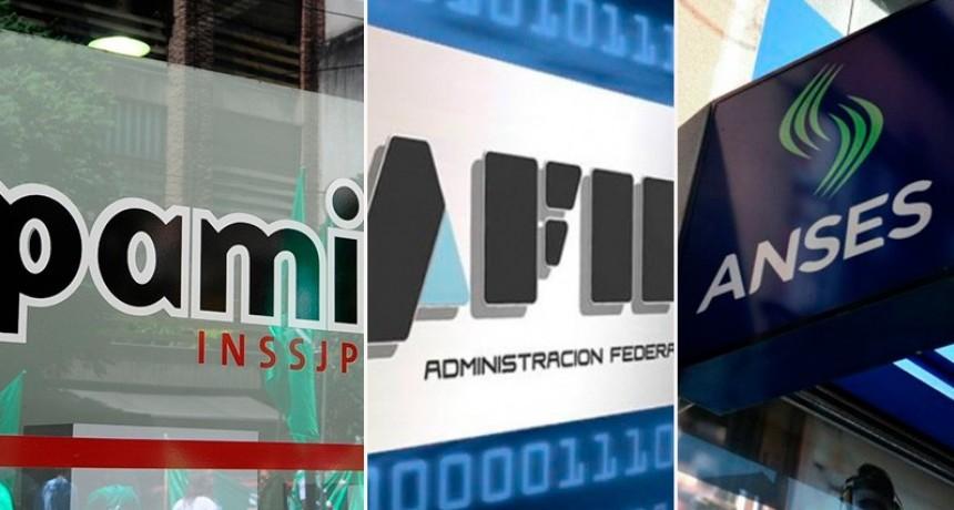 Recortarán cargos jerárquicos en AFIP, ANSES, PAMI y otros organismos