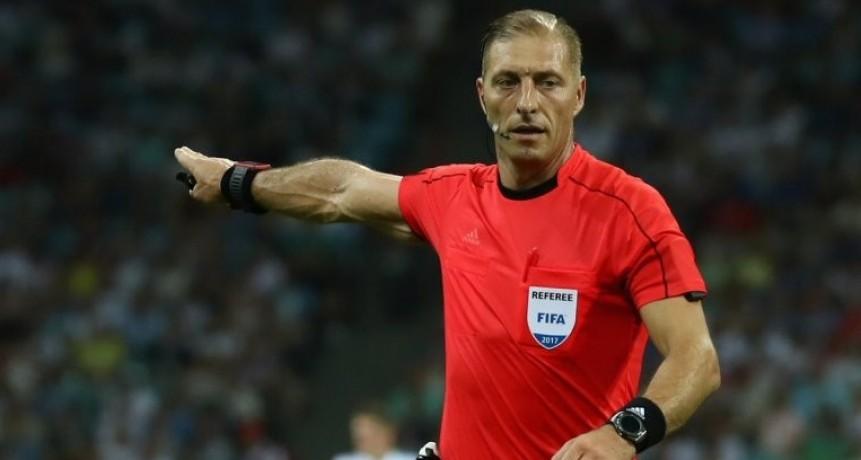 Un argentino dirigirá el primer partido del Mundial de Rusia