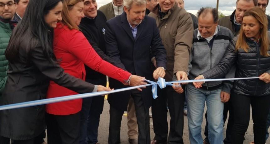Se rehabilitó el tramo de la ruta 6 que une los departamentos La Paz y Federal