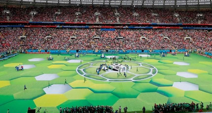 Fotos y video: Las mejores imágenes de la ceremonia de apertura del Mundial 2018