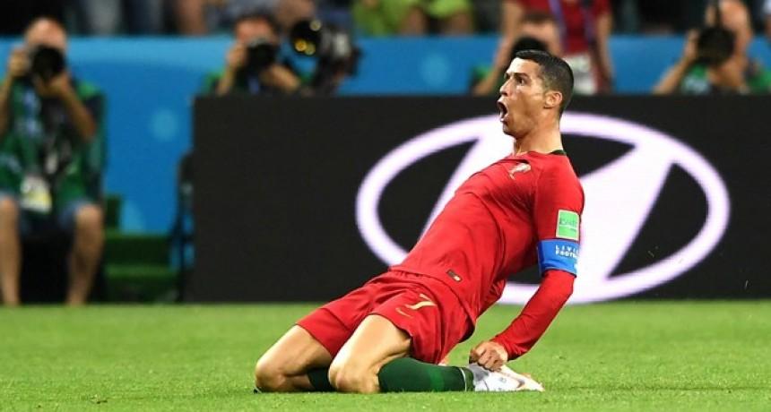 En un partidazo y con un Cristiano Ronaldo fantástico, empataron España y Portugal