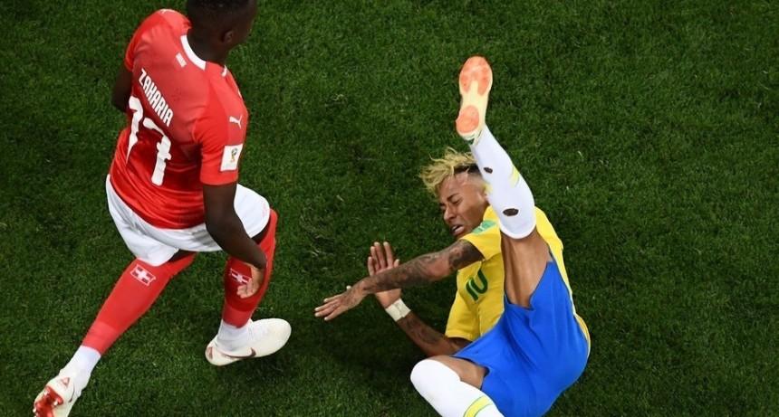 El debut de un candidato.  Brasil no ganó, pero igual da envidia