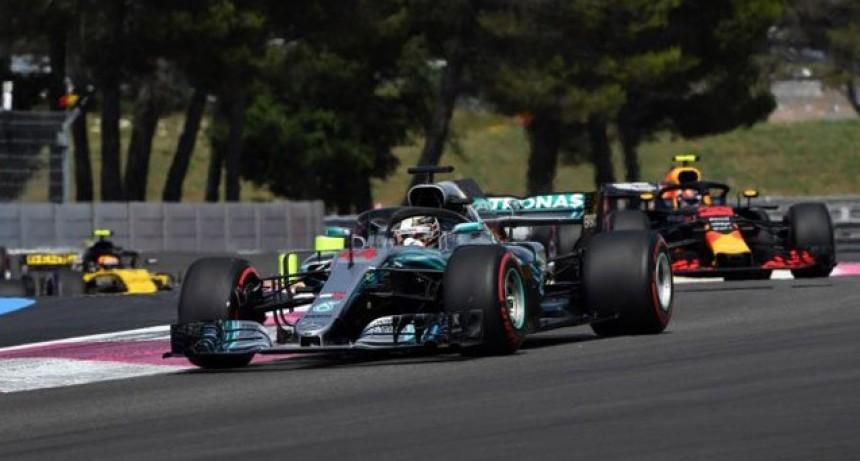 Fórmula 1: Hamilton ganó de punta a punta el Gran Premio de Francia