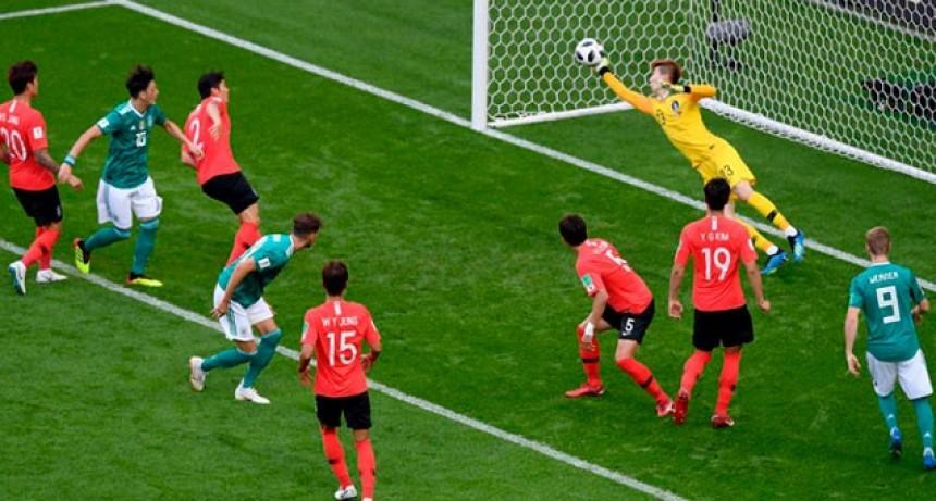 Afuera del Mundial: Alemania perdió ante Corea y quedó eliminada de Rusia 2018