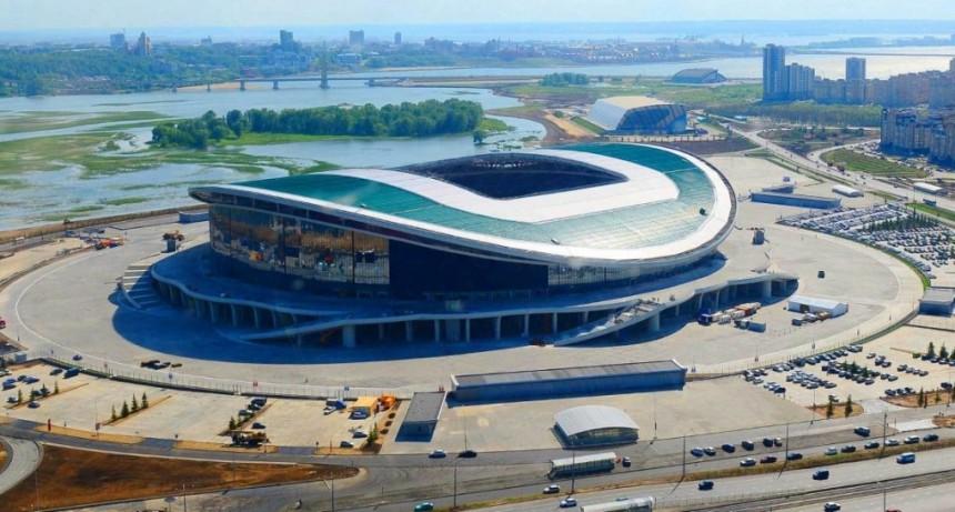 Así es el Kazán Arena, el estadio donde la Selección argentina enfrentará a Francia por octavos del Mundial