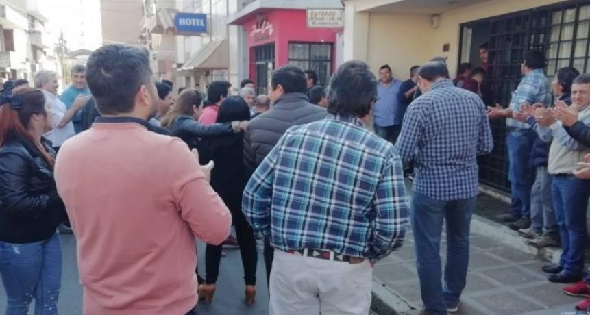 Golpes y gritos: hostilidades electorales en Iosper