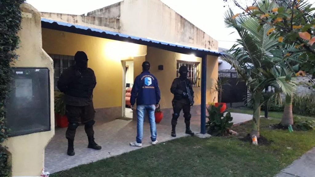 Procedimiento de la División Toxico logia Federal da otro golpe al narcomenudeo en nuestra Ciudad