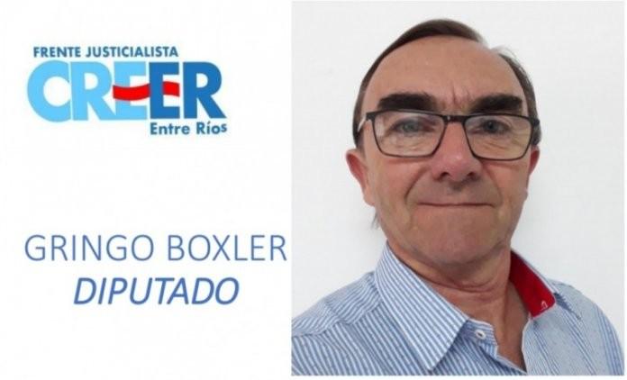 C. Bernardi: José Boxler cerca de ocupar un lugar en Diputados