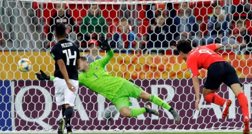 Mundial Sub 20: Argentina perdió con Corea del Sur, pero igual se quedó con su grupo