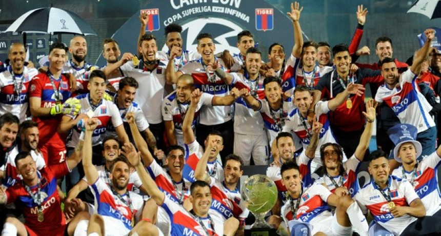 Con gol entrerriano, Tigre derrotó a Boca y se coronó campeón de la Copa de la Superliga