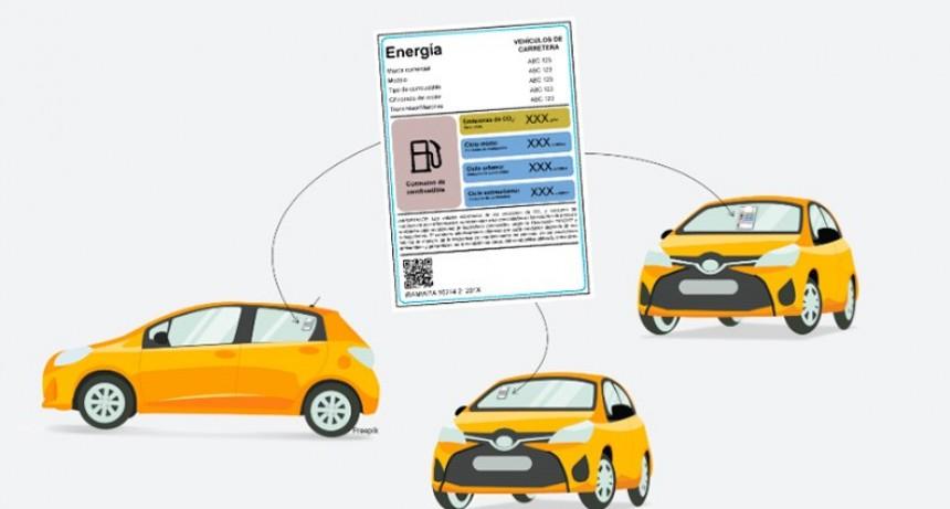El 15% de los autos que se comercialice tendrá etiqueta de eficiencia energética