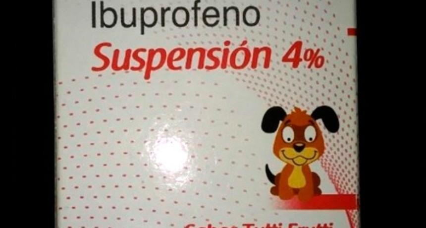 Retiran del mercado un lote de un antifebril para niños de reconocida marca