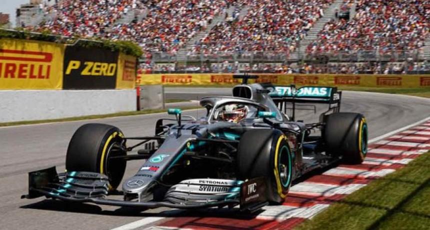 Fórmula 1: con polémica, Hamilton se quedó con el Gran Premio de Canadá