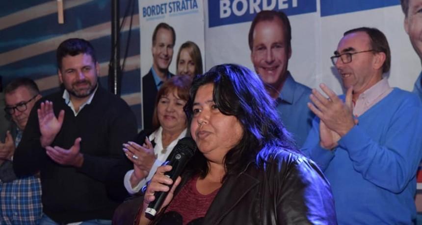 El Departamento Federal eligió a Nancy Miranda para Senadora