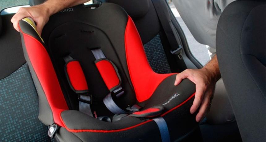 Datos que preocupan: El 73% de los niños viaja en auto sin protección adecuada